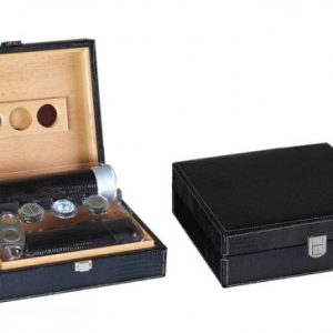 ALLIGATOR BLACK 25 CT HUMIDOR