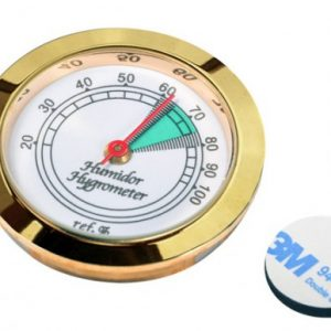 BEZEL GLASS FACE HYGROMETER