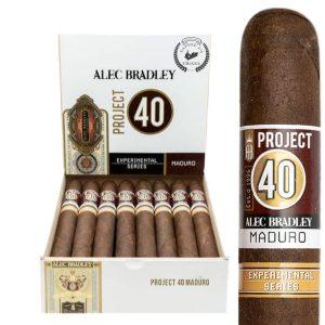 Alec Bradley Project 40 Maduro Robusto 5×50