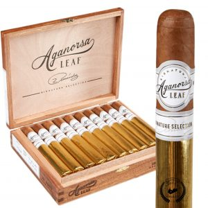 Aganorsa Leaf Signature Selection Robusto 5×52