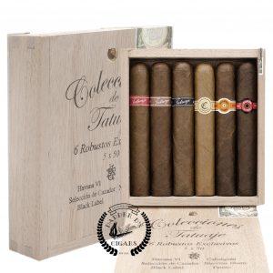 Tatuaje Colecciones Robusto Exclusivos 6-Cigar Sampler